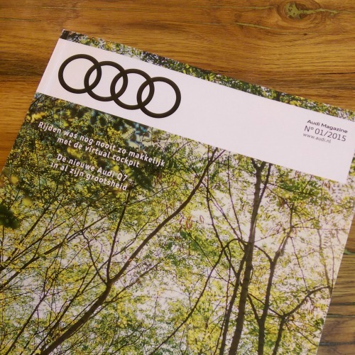 Artikel over digitale kunst voor Audi Magazine