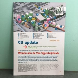 CU update, nieuwsbrief over het Utrechtse Stationsgebied
