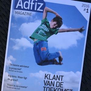 Branded content artikel voor Adfiz