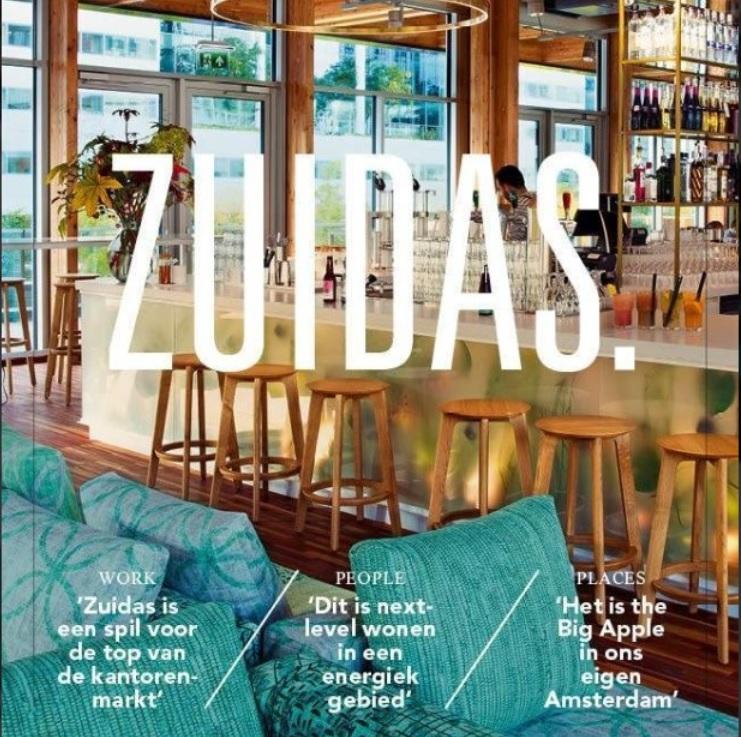 Drie interviews voor de eerste editie van ZUIDAS. magazine