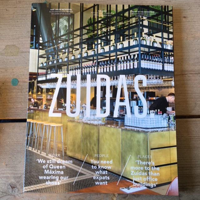 Interviews voor ZUIDAS. magazine voorjaar 2018